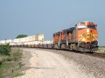 BNSF 5324 eastbound BNSF intermodal train