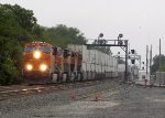 BNSF 7863 eastbound BNSF intermodal train