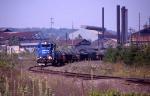 NS train CF11 passing through Wheatland Yard