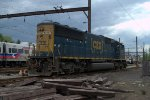 SX SD60I 8774 on the Trenton Industrial Track