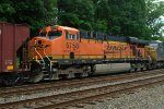 BNSF ES44AC 5758 trails on K044-23