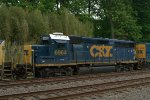 CSX GP40-2 6964 (Former CSX 4416) as the third unit on Q300-27
