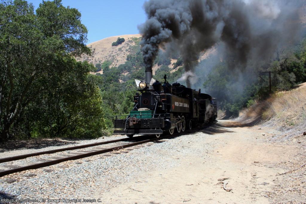 Mason County Logging Company and Quincy Railroad 2