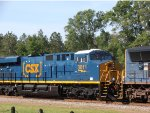 T 081 with CSX 3011 on is first run