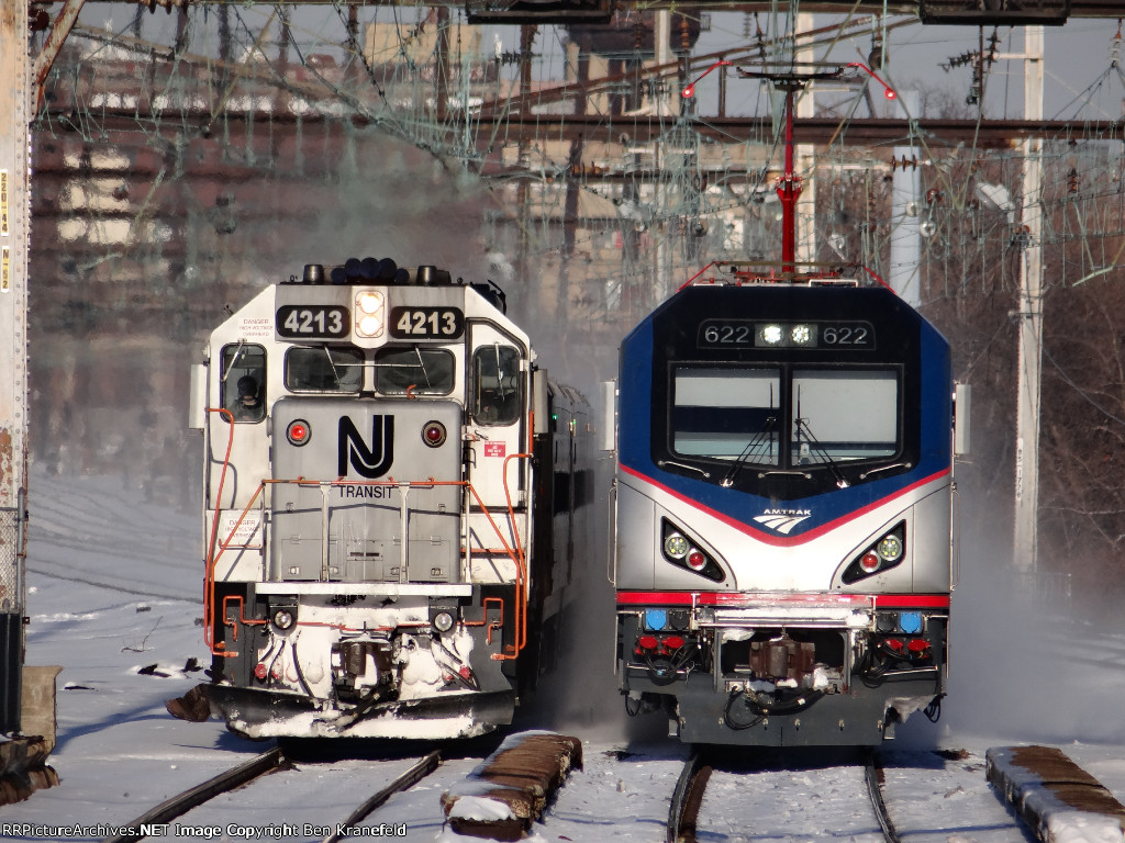 NJ Transit & Amtrak