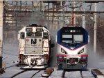 NJ Transit & Amtrak