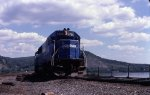 Enola-bound freight led by a big SD50