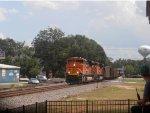 BNSF 9020 leading a NS coal train