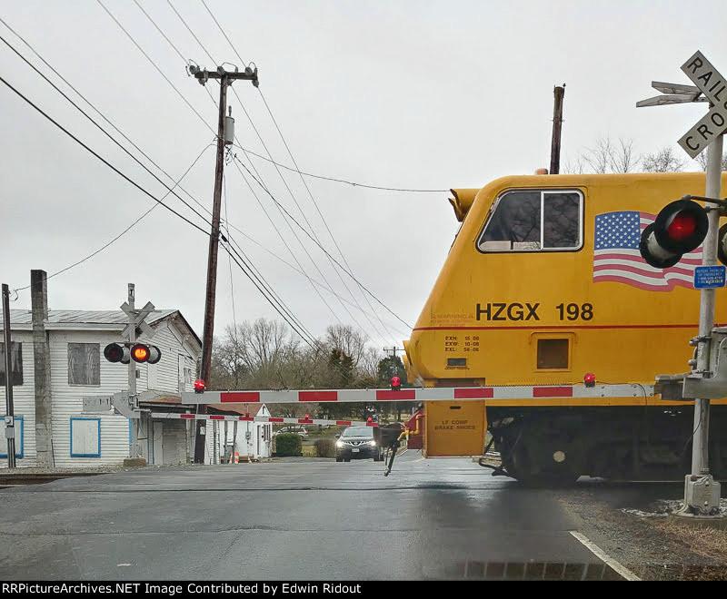 Cab of maintenance train (MofW Equipment)