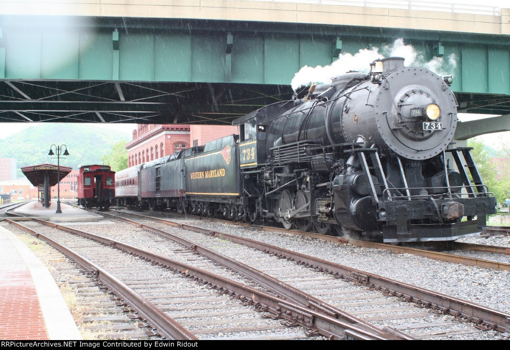 WM 734, Western Maryland Scenic Railroad