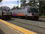 The Shore Express and the not so express to Long Branch (My train today)