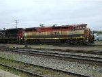 CN 2116 & BCOL 4622 at Humboldt, SK
