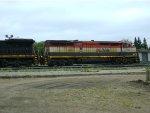 BCOL 4622 & CN 2116 at Humboldt, SK