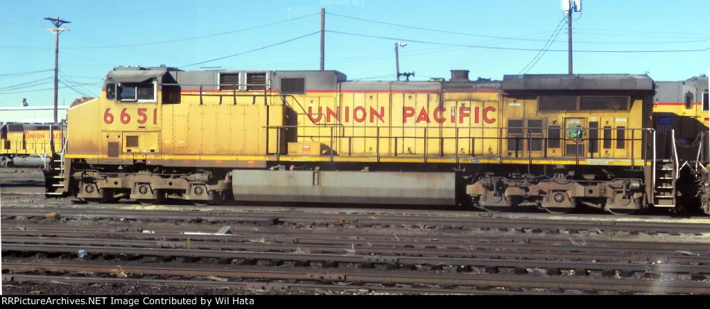 UP AC44CW 6651