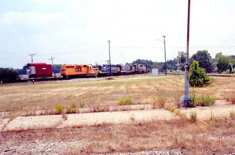 CSX Train Q470