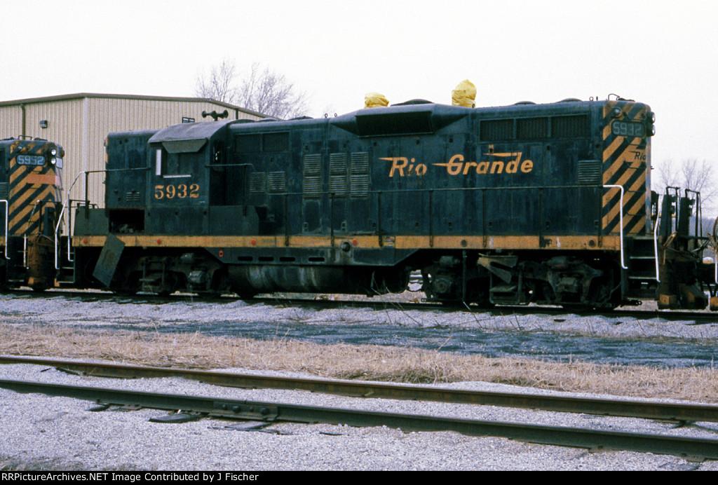 DRGW 5932