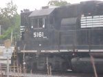 NS 5161 sits at east end of Forrest Yard