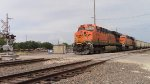 DPU's of SB BNSF coal train