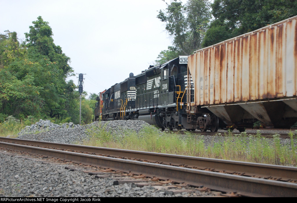 Norfolk Southern Trailers on 36Q