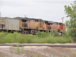 UP 6655 and BNSF 6409
