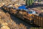 Mid train DPUs on 105 car coal drag
