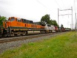 BNSF 1062 and 8301