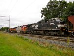 NS 9892; BNSF 8301 and 1062
