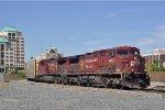 CP 8603 On CSX Q 207 Eastbound