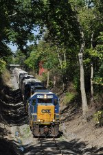 CSXT 6439 On CSX J 785 Eastbound In The Trench