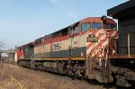 #393 Westbound mixed freight