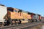 Eastbound short mixed freight