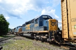 CSX 8854 is dead in tow