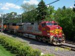Warbonnet 746 heads train west