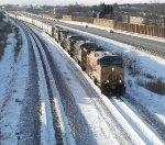 Railroading In Winter