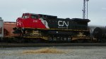 CN 2191, wrecked at Slinger WI about a month before