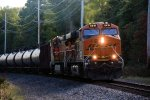 BNSF 6419 CSX Train K038-04 Crude Oil Loads