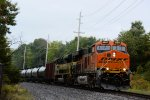 BNSF 6597 NS 1068 CSX Train K042 Crude Oil Loads