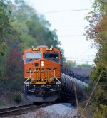 BNSF 6541 CSX Train K140 Crude Oil Loads