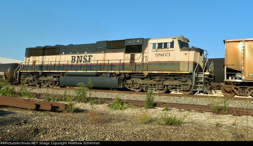 BNSF 9803 - DPU