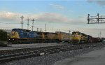 CSX Leader On This Freight