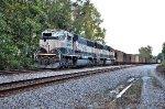 BNSF DPU's on Scherer coal drag