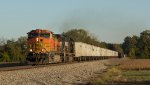 BNSF 4196 leads 264 RoadRailer.