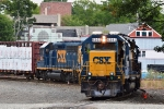 CSX 6243 is the first of four Geeps working North Yard