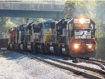 NS,CSX and BNSF on NS 994