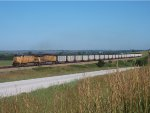 UP 6451 eastbound UP loaded coal train