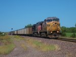 UP 6687 eastbound UP loaded coal train