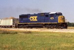 CSX 4678 solo with the wet rock