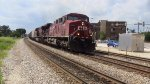Canadian Pacific AC4400CWs 8609 and 8533