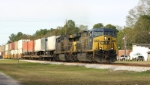 Southbound Intermodal breezes past