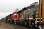 Westbound freight #393